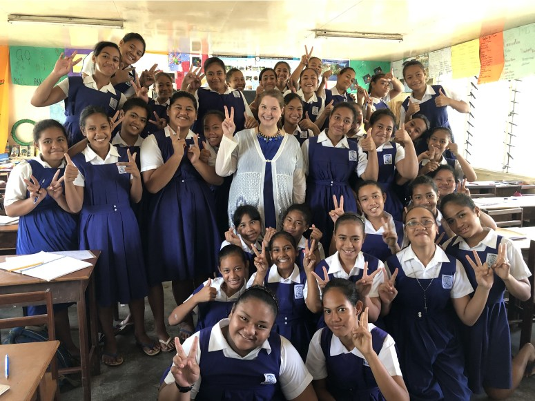 With St. Mary's kids.jpg