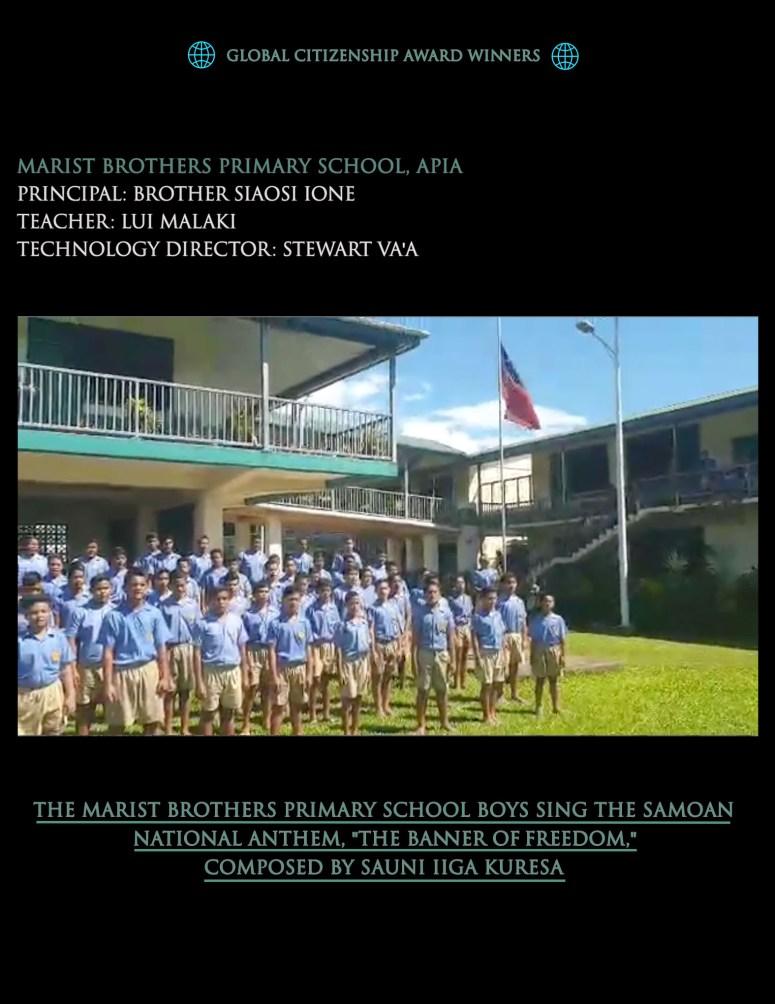 Samoa anthem Spring 2020