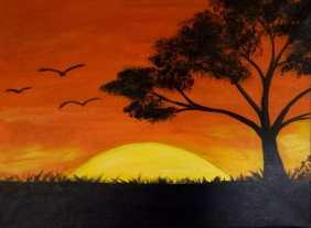 "Abd Alsatar A, 13–""Africa Sunset"""
