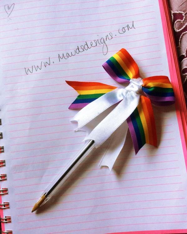 mauds-designs-rainbow-ribbon-pen