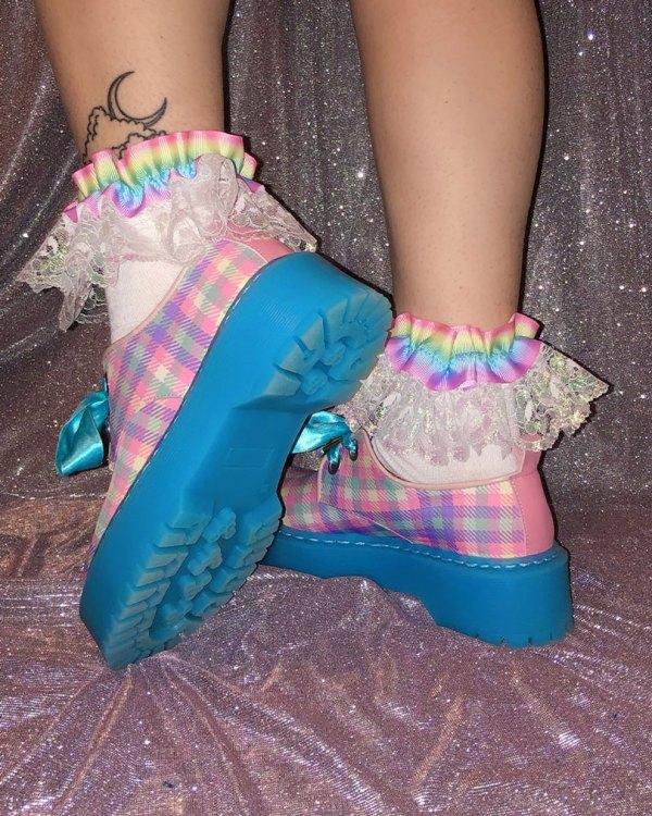 pastel-rainbow-iridescent-shimmer-lace-socks
