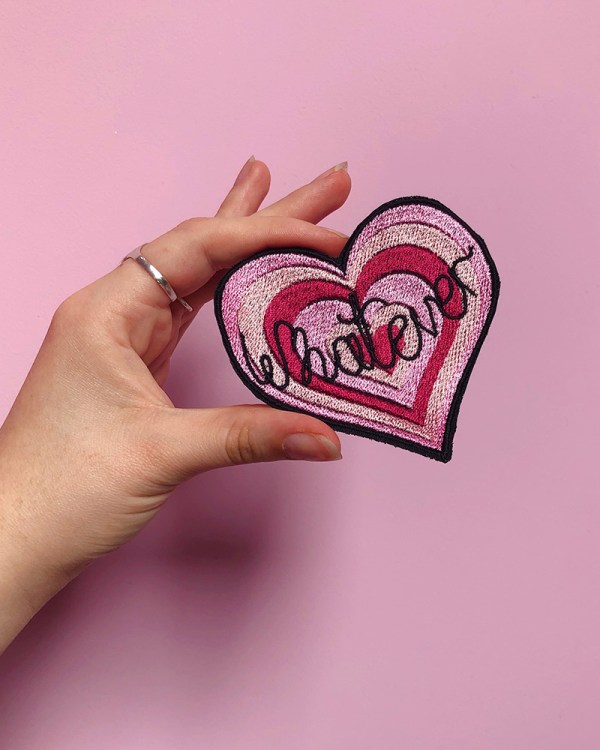 whatever-heart-cute-pink-embroidered-patch-jacket-sew-on-patches