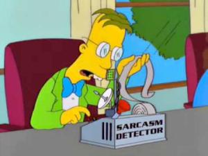 sarcasm-detector