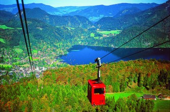 The St Wolfgang cable car