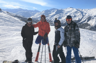 Ski4Cancer and Eddie the Eagle