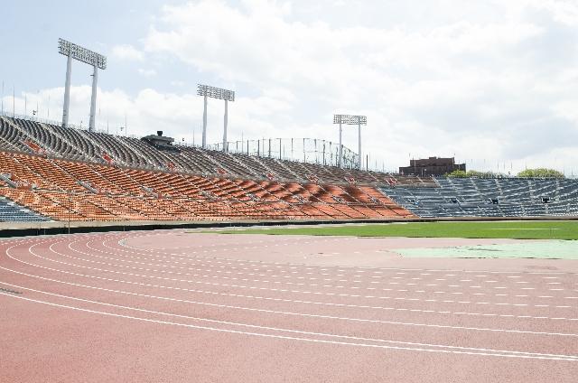 オリンピック 大型バナースタンド