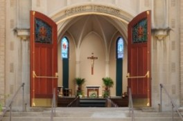 Church Doors Open