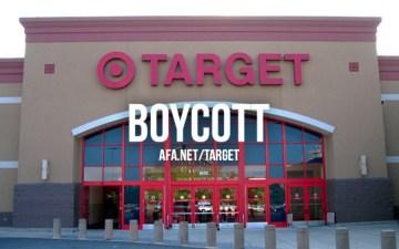 Target Boycott Homosexual Agenda Transgender Mafia Culture of Death Evil Liberalism