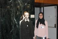 Fatima Taj with Poe