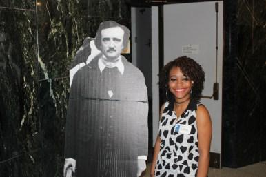 Loren Goode with Poe