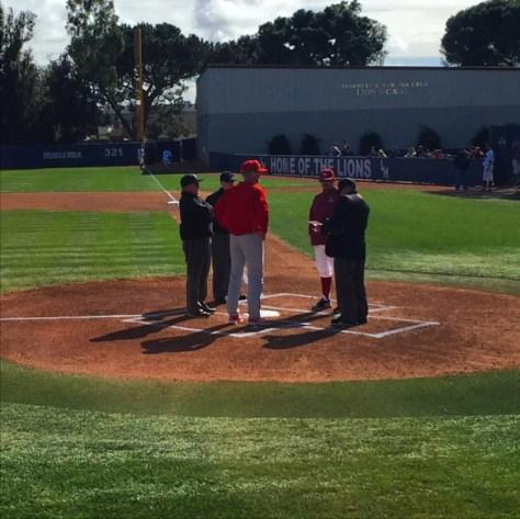 Husker Baseball Coach Darin Erstad