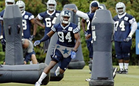 Randy Gregory Dallas Cowboys