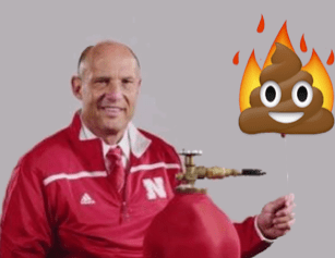 Mike Riley Flaming Pile of Poo