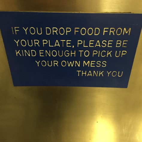 IMPORTANT NOTE IN THE KITCHEN