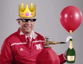 Mike Riley Balloon Michigan State