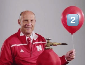 Mike Riley Balloon Watch Rutgers