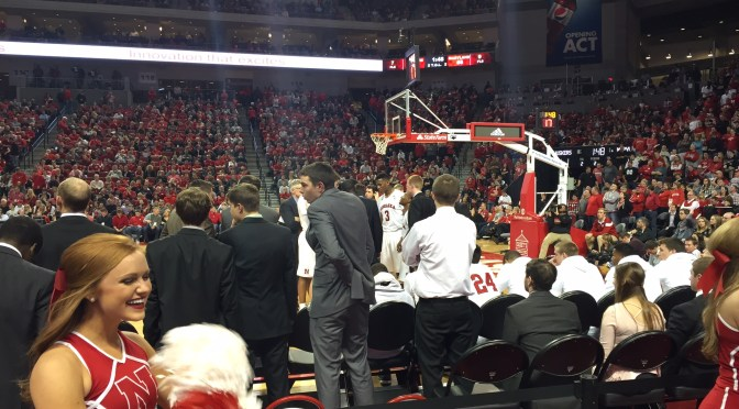View from The Red Zone: Maryland