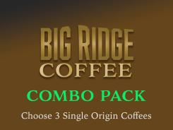 Choose 3 Single Origin Coffees