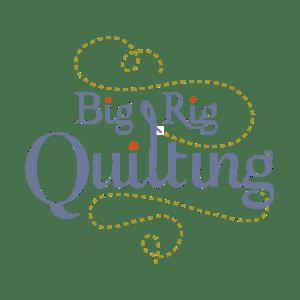 Big Rig Quilting - Logo