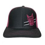 Richardson Charcoal/Neon Pink Hat