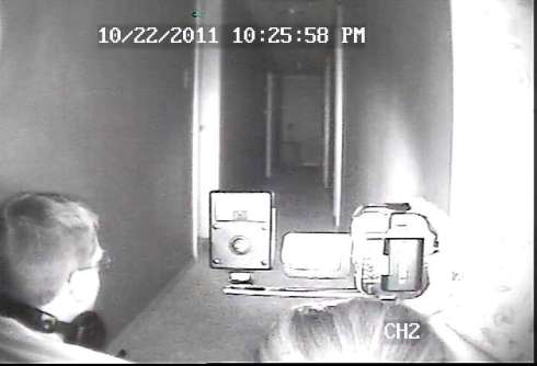 "One of our CCTV ""DVR"" screen shots from an investigation of a residence back in 2011."