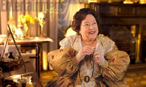 Kathy Bates playing Delphine Lalaurie in American Horror Story: Coven. Kathy used Victoria's book to research the role. (Photo via Entertainment Weekly.