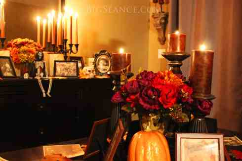 Halloween Altar, Halloween decorating ideas, Big Seance