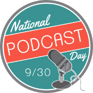 National Podcast Day Social Media Profile Picture Replacement Big Seance Podcast