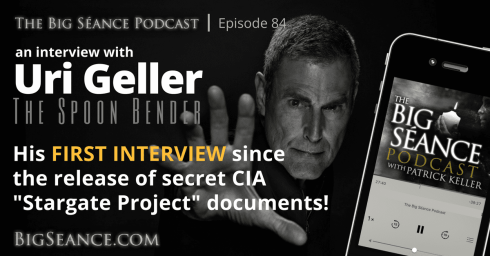 Uri Geller, the Spoon Bender - His first interview since the release of secret CIA
