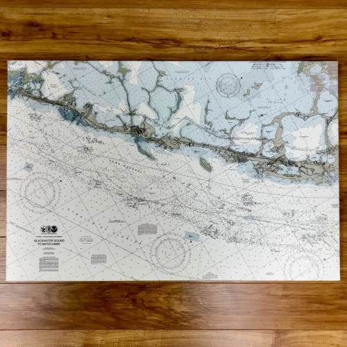 Blackwater Sound To Matecumbe Nautical Chart