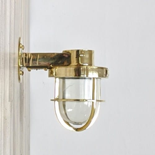 Super Polished Brass Wall Sconce