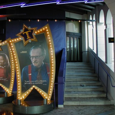 Madame Tussaud's entry stair