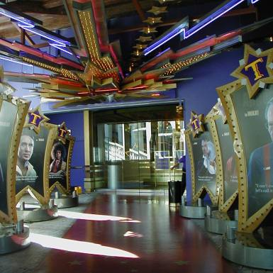 Madame Tussaud's entryway