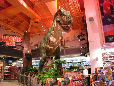 Toys R Us Jurassic Park
