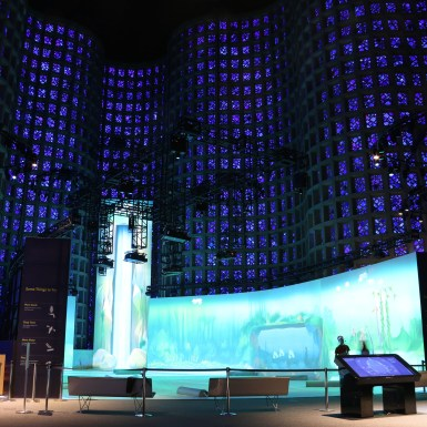 Overview of NY_Hall_of_Science_Interactive_Projection