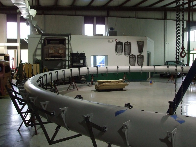 Jet Blue T5 Ring core in fabrication stage