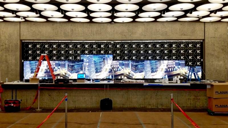 Met Breuer LED Digital Signage Install 1