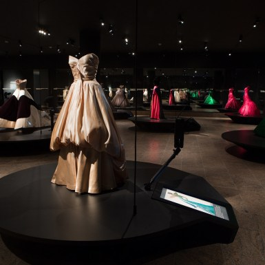 Met Museum Charles James Gowns Robots