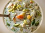 Vegetable Soup with Goat Milk Broth and Dumplings (Gluten-Free or Not) https://bigsislittledish.wordpress.com/2012/02/24/vegetable-soup-with-goat-milk-broth-and-dumplings-gluten-free-or-not/
