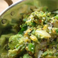 Curried Avocado (Indian Guacamole)