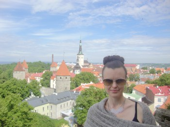 Tallinn https://bigsislittledish.com/2012/07/04/travelers-potato-leek-gouda-soup-for-a-rainy-day-in-tallinn/