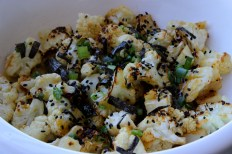 Miso Butter Broiled Cauliflower https://bigsislittledish.wordpress.com/2016/01/17/miso-butter-broiled-cauliflower/