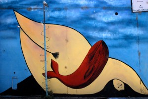 Street Mural in Valparaiso, Chile