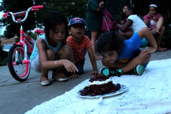 Black Forest Cake for the kids on my block