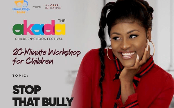 Image result for Alex bbnaija on a Campaign to stop Bullying School Pupils