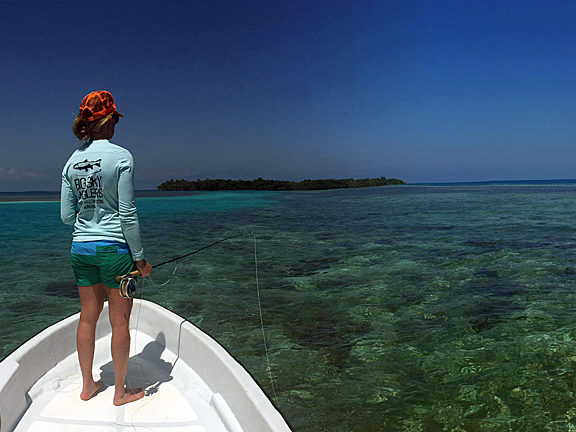 Fly Fishing For Permit in Belize