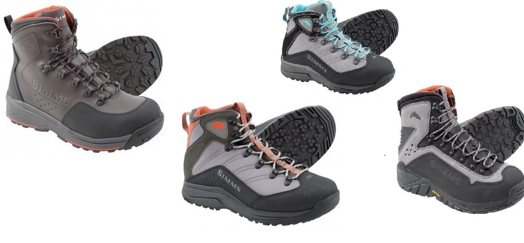 Non-Felt Soled Wading Boots: A Couple of Options from Simms