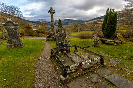 Rob Roy MacGregors grave
