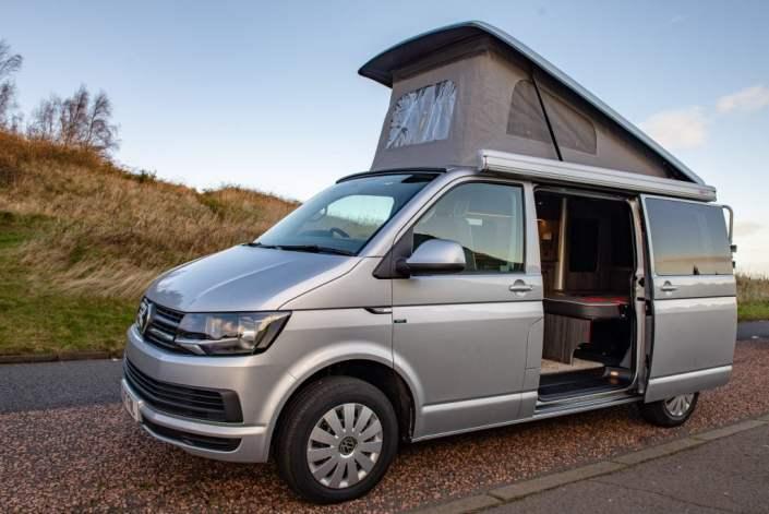 VW campervan hire edinburgh