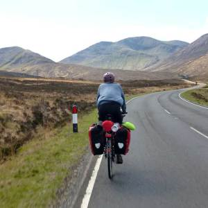 Outdoor activities in Scotland like cycling